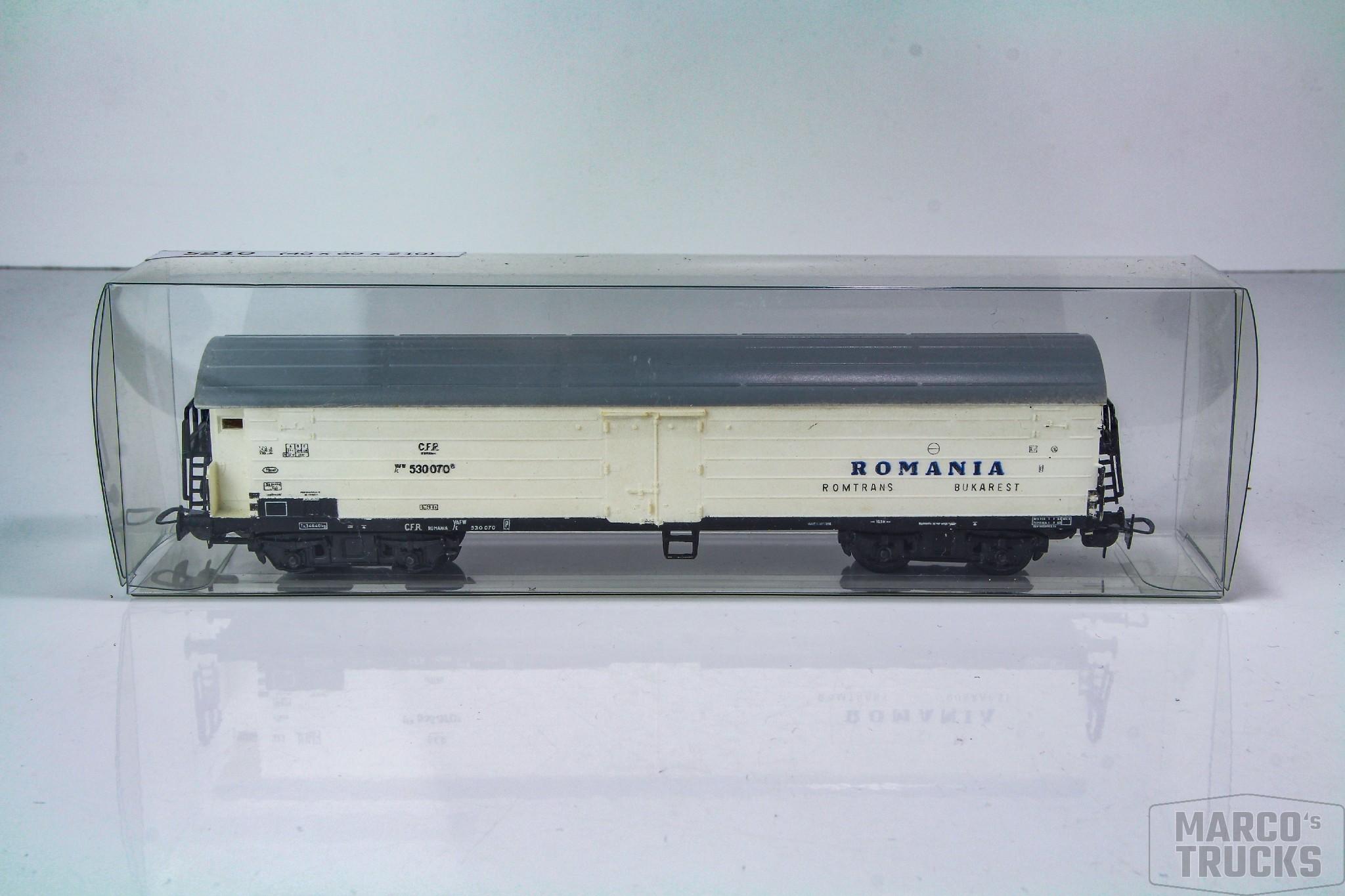 143x60x40 Klarsichtverpackung Faltschachtel für Modelleisenbahnwaggons Spur H0